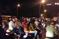 Kẹt xe kéo dài, từ Cái Bè - Tiền Giang lên TP HCM hơn 4 tiếng