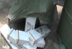 Bắt 12.000 gói thuốc lá nhập lậu