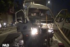Tai nạn nghiêm trọng trên Quốc lộ 1, tài xế chết kẹt trong cabin