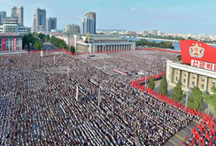 Biển người Triều Tiên tập hợp phản đối lệnh trừng phạt của Liên Hợp Quốc