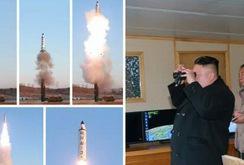 Clip: Triều Tiên phóng tên lửa có thể bay hơn 2.000 km