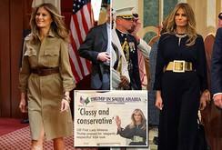 Bản tin NLĐ ngày 23-5: Báo chí Ả Rập khen phu nhân Melania Trump mặc đẹp