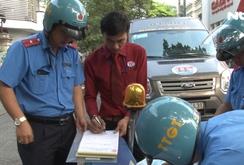 Thanh tra giao thông TP HCM tăng cường xử phạt trong dịp Tết