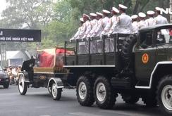 Hàng ngàn người xúc động tiễn đưa nguyên Thủ tướng Phan Văn Khải