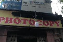 Cháy tiệm Photocopy, 3 người mắc kẹt, 1 bé trai thiệt mạng