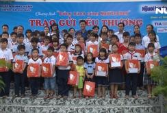 200 phần quà tặng các em học sinh khó khăn