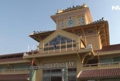 """Phóng sự: Tiểu thương chợ Bình Tây háo hức về  """"nhà mới"""""""