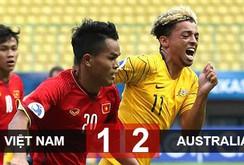 Video clip: Thua Úc 1-2, U19 Việt Nam chính thức bị loại