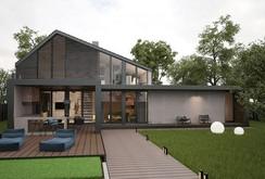 Ngôi nhà hiện đại với sân hiên làm nơi thư giãn tuyệt vời