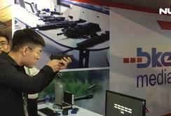 Nhiều vũ khí hiện đại tại triển lãm quốc tế về an ninh tại Hà Nội