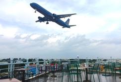 Ghi nhanh: Cà phê ngắm máy bay tại TP HCM