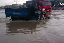 Đồng Nai: Nhanh chóng chống ngập trên Quốc lộ 51
