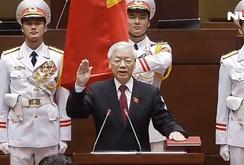 Tuyên thệ nhậm chức Chủ tịch nước của Tổng Bí thư Nguyễn Phú Trọng