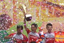 Nguyễn Thành Tâm đoạt áo vàng chung cuộc Cúp xe đạp Truyền hình TP HCM 2018
