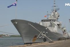 Ba tàu Hải quân Hoàng gia Australia thăm TP HCM