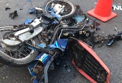Trên đường đi làm, nam bảo vệ bị xe ben tông chết