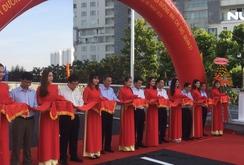 Cầu qua đảo Kim Cương chính thức thông xe