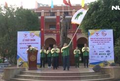 Lễ xuất quân Đoàn Thể thao TP HCM tham gia Đại hội Thể thao toàn quốc lần VIII