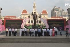 TP HCM tổ chức lễ dâng hương, dâng hoa Chủ tịch Hồ Chí Minh