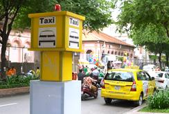 Ghi nhanh: TP HCM thí điểm 5 điểm đón taxi cố định tại trung tâm Quận 1