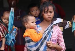Vỡ đập thuỷ điện tại Lào: Phóng viên Báo NLĐ tiến sâu vào tâm điểm ngập