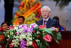 Tổng Bí thư dự phiên trọng thể Đại hội XII Công đoàn Việt Nam