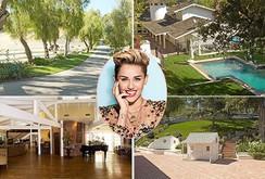Điền trang thơ mộng rộng hơn 20.000 m2 của Miley Cyrus