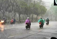 TP HCM mưa trái mùa liên tiếp trong hai ngày 18 và 19-1