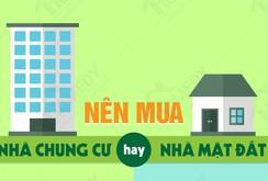 Nên mua nhà phố hay chung cư?