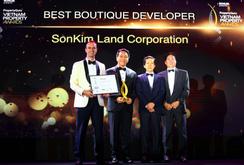 """SonKim Land: """"Nhà phát triển BĐS xuất sắc nhất dòng Luxury Boutique"""""""