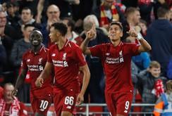 """""""Thương binh"""" Firmino định đoạt trận đại chiến sân Anfield"""