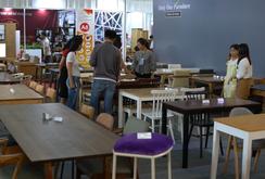 420 gian hàng quy tụ tại Hội chợ Đồ gỗ và Trang trí nội thất Việt Nam