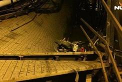 Cầu Long Kiển, Nhà Bè sập trong đêm