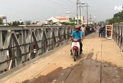 Thông xe cầu Long Kiểng sau 10 ngày bị sập
