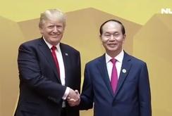 Tổng thống Donal Trump ca ngợi Chủ tịch nước Trần Đại Quang