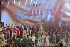 Ấn tượng đêm khai mạc Lễ hội Áo dài TPHCM 2019