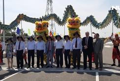 Khánh thành hai cầu vào dự án Khu công nghệ môi trường xanh