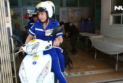 Lan rộng mô hình cấp cứu ngoại viện bằng xe hai bánh