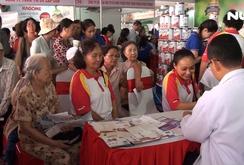 Ngày hội sức khỏe cộng đồng 2019 tại TPHCM: Khám bệnh miễn phí cho người dân