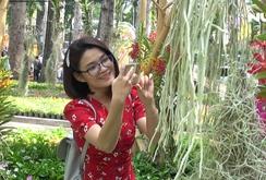 Ghi nhanh: Chiêm ngưỡng hàng ngàn chậu lan tuyệt đẹp tại Festival Hoa lan TP HCM