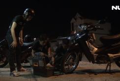Đội cứu hộ xe máy miễn phí về đêm ở Cà Mau