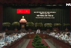 Khai mạc Hội nghị lần thứ 30 Ban Chấp hành Đảng bộ TP HCM khóa X
