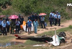 Máy bay quân sự rơi ở Khánh Hòa, 2 phi công hy sinh