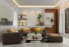 Mẫu phòng khách đẹp cho căn hộ chung cư