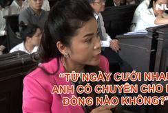 """Video: Bà Diệp Thảo: """"Từ ngày cưới nhau anh có chuyển cho em đồng nào không?"""""""