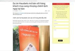 Nguy cơ lừa đảo từ việc EZ Land Việt Nam bị mạo danh