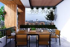 Mẫu nhà phố 3 tầng đẹp như mơ với chi phí 1,2 tỉ đồng