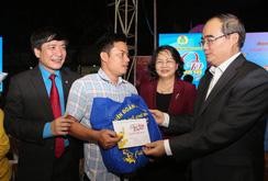 600 gia đình công nhân tại TP HCM vui Tết sum vầy 2019