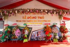 Xây Trung tâm thương mại Đại Nam và Trường học tại Khu dân cư Đại Nam - Bình Phước