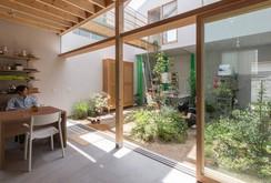 Độc đáo ngôi nhà thiết kế lạ, xóa ranh giới giữa nội thất và ngoại thất